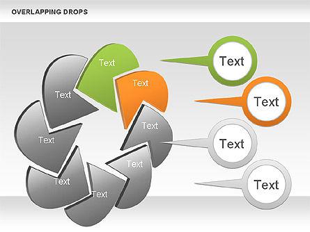 Overlapping Shapes, Slide 2, 00888, Business Models — PoweredTemplate.com