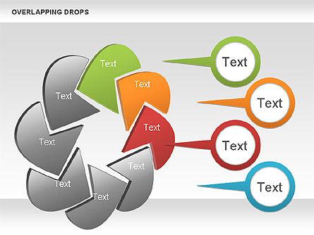 Overlapping Shapes, Slide 3, 00888, Business Models — PoweredTemplate.com
