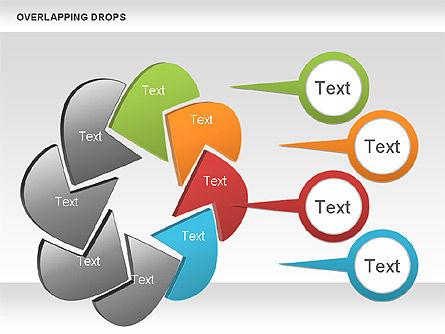 Overlapping Shapes, Slide 4, 00888, Business Models — PoweredTemplate.com