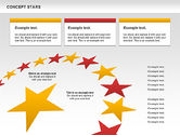 Business Models: Concept Stars Diagram #00890