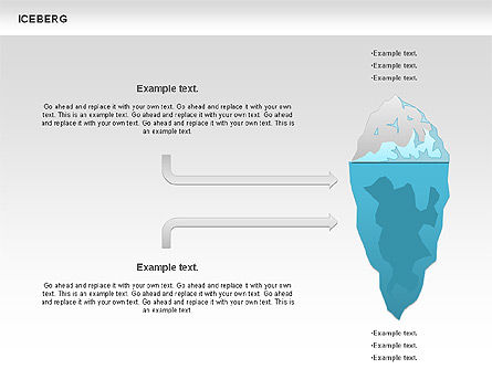 Iceberg Diagram For Powerpoint Presentations Download Now 00893