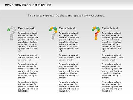 Condition Problem Puzzle Diagram, Slide 11, 00898, Puzzle Diagrams — PoweredTemplate.com