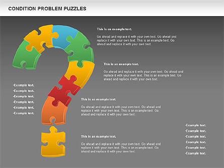 Condition Problem Puzzle Diagram, Slide 12, 00898, Puzzle Diagrams — PoweredTemplate.com