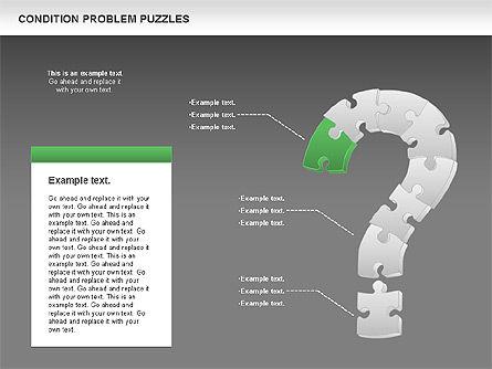 Condition Problem Puzzle Diagram, Slide 13, 00898, Puzzle Diagrams — PoweredTemplate.com