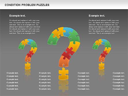 Condition Problem Puzzle Diagram, Slide 16, 00898, Puzzle Diagrams — PoweredTemplate.com