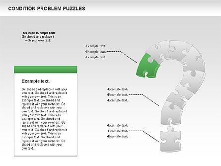 Condition Problem Puzzle Diagram, Slide 2, 00898, Puzzle Diagrams — PoweredTemplate.com