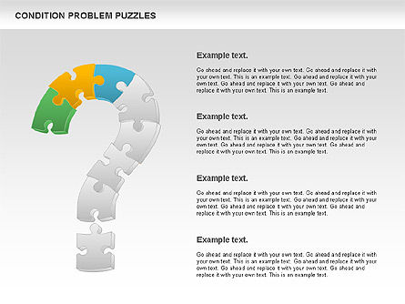 Condition Problem Puzzle Diagram, Slide 3, 00898, Puzzle Diagrams — PoweredTemplate.com