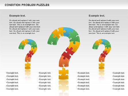 Condition Problem Puzzle Diagram, Slide 6, 00898, Puzzle Diagrams — PoweredTemplate.com