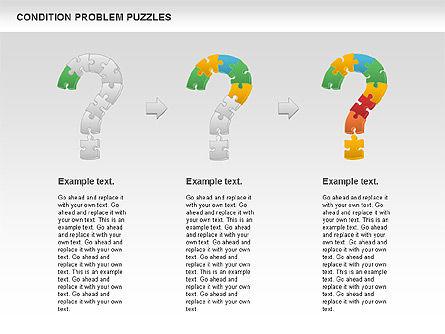 Condition Problem Puzzle Diagram, Slide 8, 00898, Puzzle Diagrams — PoweredTemplate.com