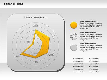 Radar Chart, Slide 4, 00899, Business Models — PoweredTemplate.com