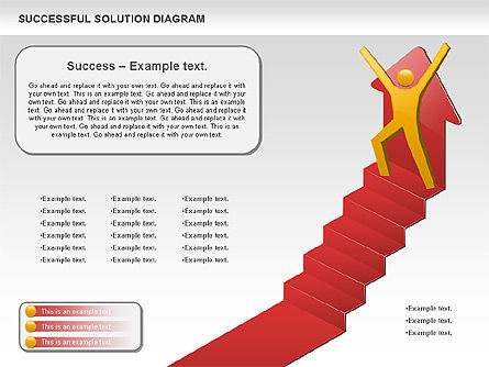Successful Solution Diagram , Slide 4, 00905, Business Models — PoweredTemplate.com