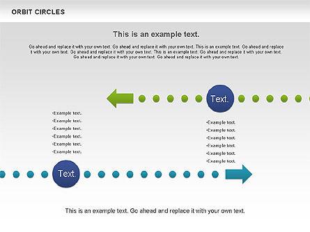 Orbit Circles Diagram, Slide 10, 00907, Business Models — PoweredTemplate.com