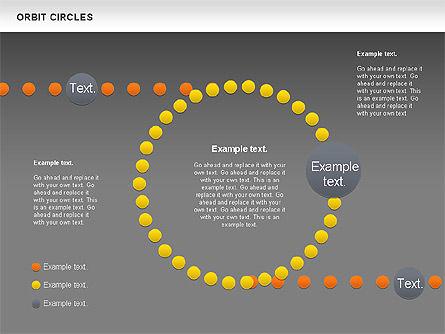 Orbit Circles Diagram, Slide 15, 00907, Business Models — PoweredTemplate.com