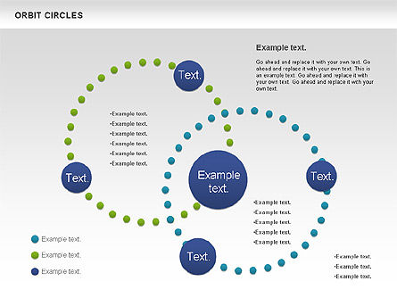 Orbit Circles Diagram, Slide 2, 00907, Business Models — PoweredTemplate.com