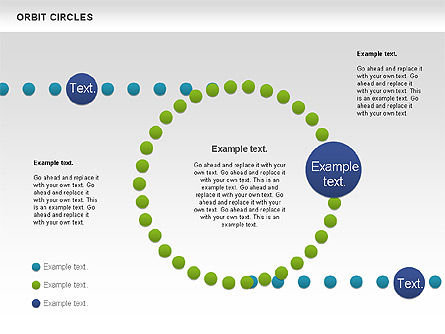 Orbit Circles Diagram, Slide 4, 00907, Business Models — PoweredTemplate.com