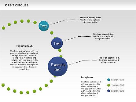 Orbit Circles Diagram, Slide 5, 00907, Business Models — PoweredTemplate.com