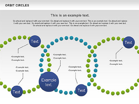 Orbit Circles Diagram, Slide 6, 00907, Business Models — PoweredTemplate.com
