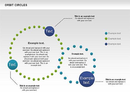 Orbit Circles Diagram, Slide 7, 00907, Business Models — PoweredTemplate.com
