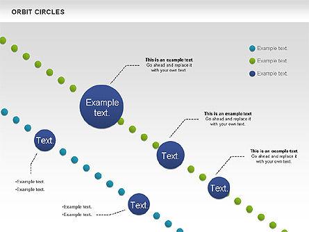 Orbit Circles Diagram, Slide 8, 00907, Business Models — PoweredTemplate.com