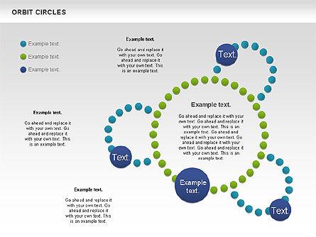 Orbit Circles Diagram, Slide 9, 00907, Business Models — PoweredTemplate.com