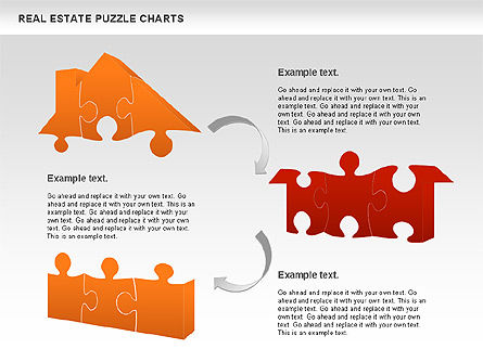 Puzzle Diagrams: Real Estate Puzzle Charts #00909