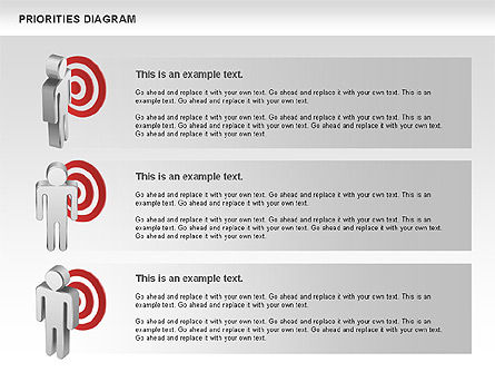 Priorities Diagram, Slide 7, 00914, Business Models — PoweredTemplate.com