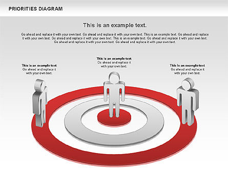 Priorities Diagram, Slide 8, 00914, Business Models — PoweredTemplate.com