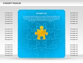 Puzzle Diagrams: Concept Puzzles Chart #00916