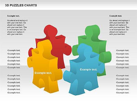 Puzzle Diagrams: 3D Puzzles Charts #00917