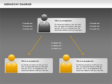 Hierarchy Diagram, Slide 15, 00919, Business Models — PoweredTemplate.com