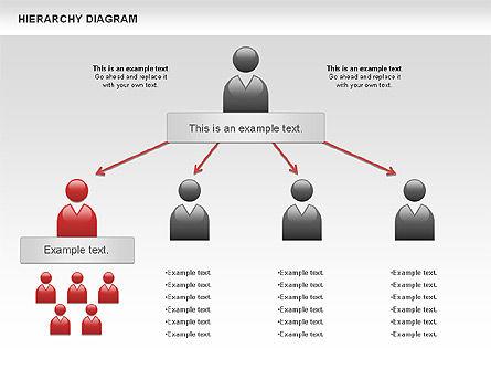 Hierarchy Diagram, Slide 5, 00919, Business Models — PoweredTemplate.com