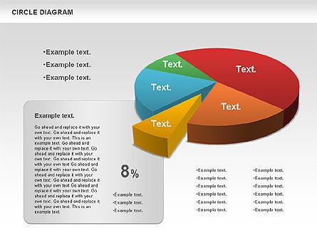 3D Pie Chart (Data Driven), Slide 10, 00922, Pie Charts — PoweredTemplate.com