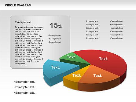 3D Pie Chart (Data Driven), Slide 11, 00922, Pie Charts — PoweredTemplate.com