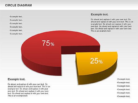 3D Pie Chart (Data Driven), Slide 6, 00922, Pie Charts — PoweredTemplate.com