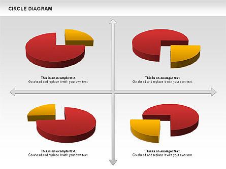 3D Pie Chart (Data Driven), Slide 7, 00922, Pie Charts — PoweredTemplate.com