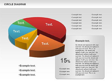 3D Pie Chart (Data Driven), Slide 9, 00922, Pie Charts — PoweredTemplate.com
