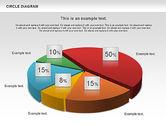 Pie Charts: 3D Pie Chart (Data Driven) #00922