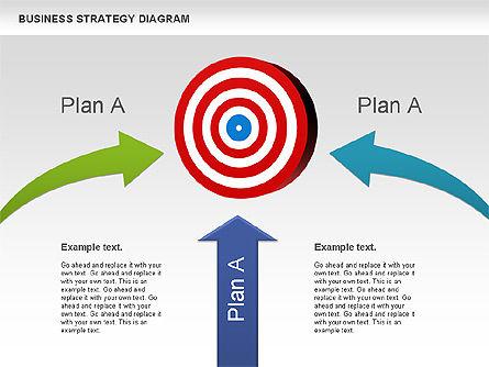 Business Strategy Diagram, Slide 11, 00927, Business Models — PoweredTemplate.com