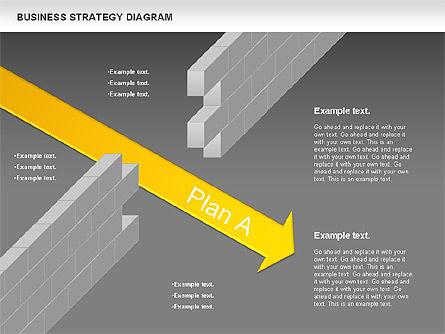 Business Strategy Diagram, Slide 14, 00927, Business Models — PoweredTemplate.com