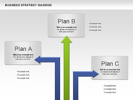 Business Strategy Diagram, Slide 2, 00927, Business Models — PoweredTemplate.com