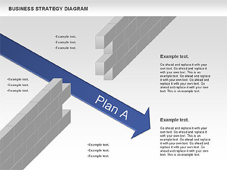 Business Strategy Diagram, Slide 3, 00927, Business Models — PoweredTemplate.com