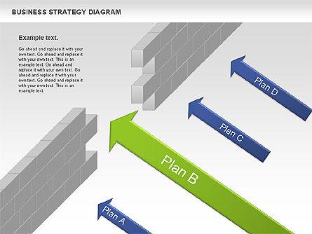 Business Strategy Diagram, Slide 5, 00927, Business Models — PoweredTemplate.com