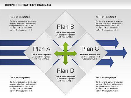 Business Strategy Diagram, Slide 7, 00927, Business Models — PoweredTemplate.com