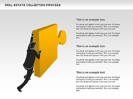 Real Estate Collection Process, 00929, Business Models — PoweredTemplate.com
