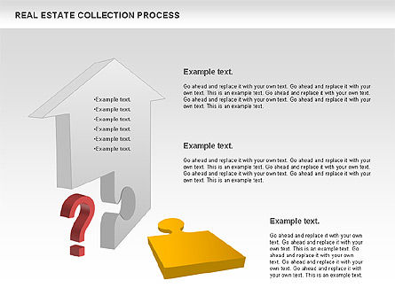 Real Estate Collection Process, Slide 2, 00929, Business Models — PoweredTemplate.com