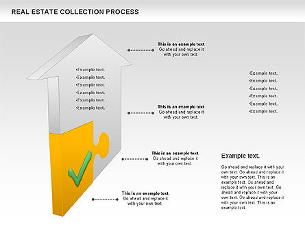 Real Estate Collection Process, Slide 3, 00929, Business Models — PoweredTemplate.com