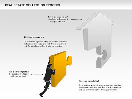 Real Estate Collection Process, Slide 4, 00929, Business Models — PoweredTemplate.com