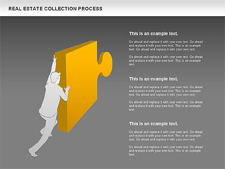 Real Estate Collection Process, Slide 9, 00929, Business Models — PoweredTemplate.com