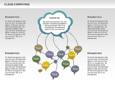 Business Models: Cloud Computing Diagram #00930