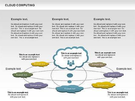 Cloud Computing Diagram Slide 11